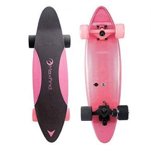 Maxfind MAX C Penny Electric Skateboard (Pink)