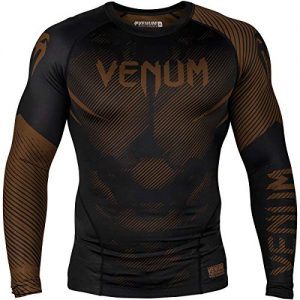 Venum Nogi 2.0 Rashguard - Long Sleeves - Black-S, Black, Small