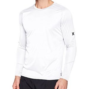 Hurley Men's Nike Dri-fit Long Sleeve Sun Protection +50 UPF Rashguard