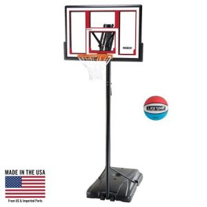 Lifetime Portable Basketball System, 48 Inch Shatterproof Backboard