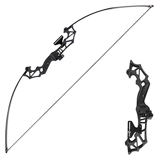 Archery Takedown Recurve Bow Hunting Long Bow Alloy Riser
