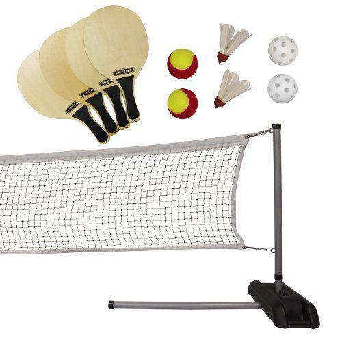 Lifetime Pickleball, Badminton, & Quickstart Tennis Net Set