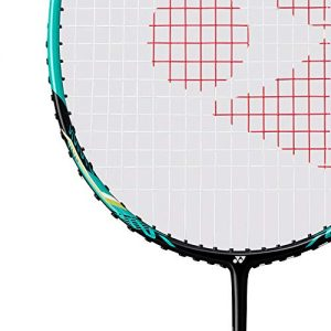 Yonex Nanoray 10 F Badminton Racket (Black/Green) G4 (Strung)