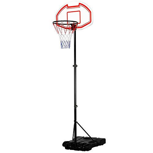 Portable Basketball Hoop System Height Adjustable Basketball Stand