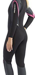 Cressi Lady Front-Zip Full Wetsuit for Water Activities