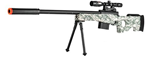 L96 Airsoft Gun Sniper Spring Powered Rifle Gun with Scope