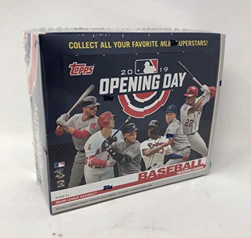 Topps 2019 Opening Day Baseball Retail Display Box (36 Packs)