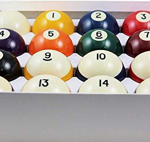 Standard Billiard/Pool Balls, Complete 16 Ball Set