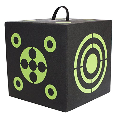 Elkton Outdoors 6-Sided 3D Cube Reusable Archery Target