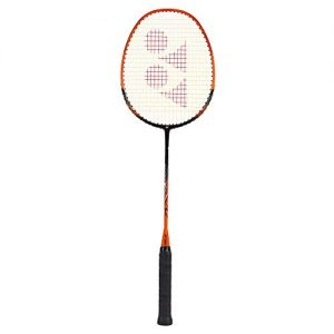Yonex NanoRay Ace Aluminum Badminton Racquet Black/Orange 4U4