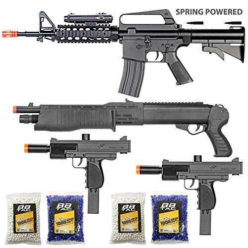 The Operator - Collection of 4 Airsoft Guns