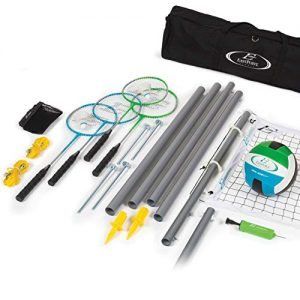 EastPoint Sports Deluxe Volleyball Badminton Net Set