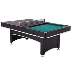 Billiard Table with Table Tennis Conversion Top