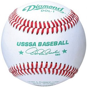 Diamond Usssa Dol-1 Leather Baseballs 12 Ball Pack