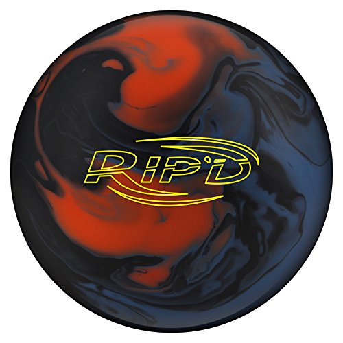 Hammer Rip'd Solid Bowling Ball - Blue/Black/Orange