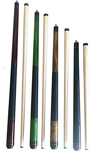 Canadian Hard Rock Maple Billiard Pool Cue Sticks