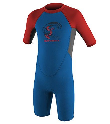 2mm Back Zip Short Sleeve Spring Wetsuit