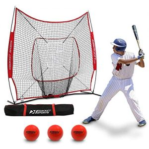 Rukket 6pc Baseball/Softball Bundle | 7x7 Hitting Net
