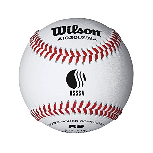 Wilson League Series Baseball (12-Pack), White