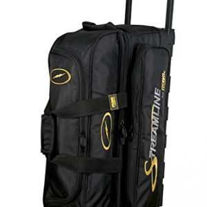 Storm Streamline 3 Ball Roller Bowling Bag Black