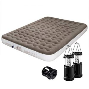 Camping Air Mattress Queen Size Portable Inflatable