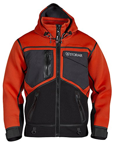 Wind and Waterproof Coat with Low Pile Stretch Fleece Interior