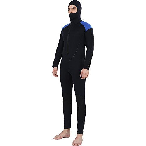Diving Suit Men 5mm Full Surfing Wetsuit Hoodie