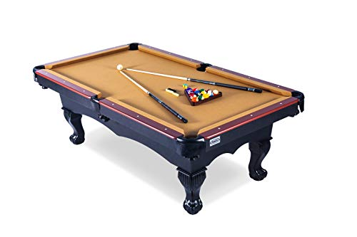 Rack Taurus 8-Foot Billiard/Pool Table, Includes Complete Accessories Set