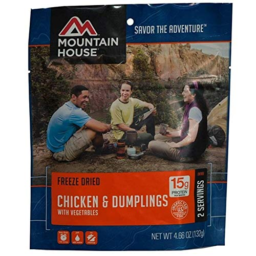 Mountain House Chicken & Dumplings with Vegetables