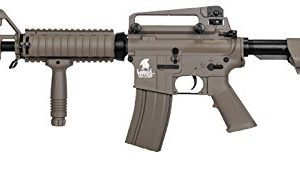 Tactical lt-04t m16 RIS Electric Airsoft Gun Metal Gear fps-400