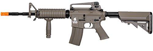 Tactical lt-04t m16 RIS Electric Airsoft Gun Metal Gear fps-400