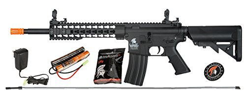Lancer Tactical M4 KEYMOD AEG Field Metal Gears Airsoft Gun Rifle