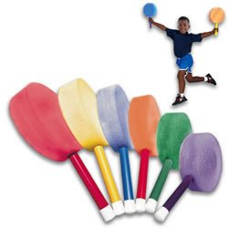 "BSN Foam Paddles - Badminton - 12"" Handle"