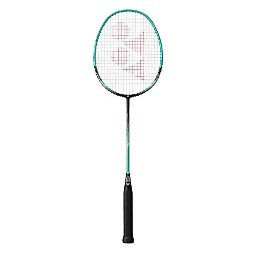 Yonex Nanoray 10 F G5 Badminton Racket (Black/Green)