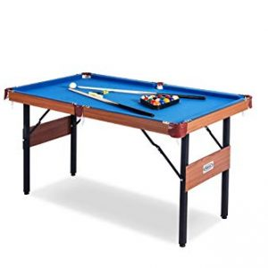 Rack Crux Foldable 4.5-Foot Billiard/Pool Table
