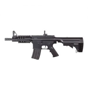 M4 AEG Airsoft Rifle with Red Dot Sight & Flashlight