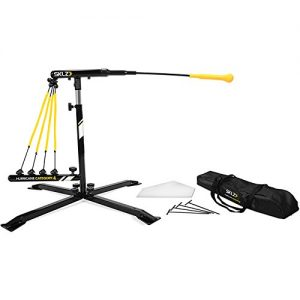 SKLZ Hurricane Category 4 Batting Trainer, Solo Swing Trainer for Baseball and Softball
