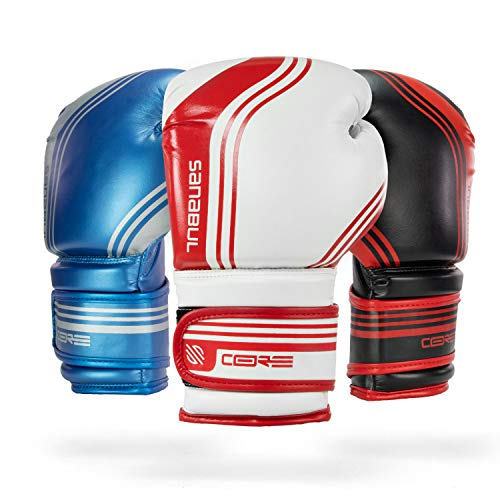 Sanabul Core Series Gel Boxing Kickboxing Training Gloves