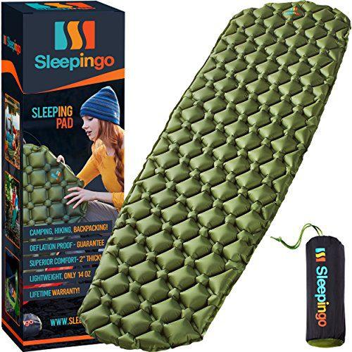 Sleepingo Camping Sleeping Pad - Mat, (Large)
