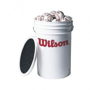 Wilson Bucket of Baseballs (3 dozen)