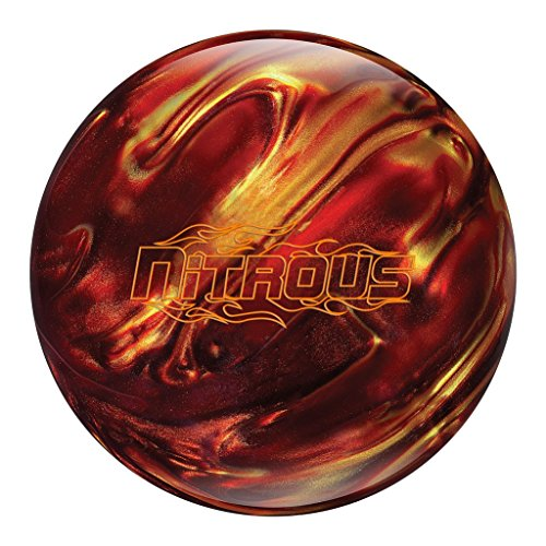 Columbia 300 Nitrous Bowling Ball Red/Gold, 14lbs