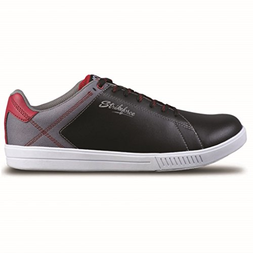 KR Strikeforce Atlas Black/Grey/Red Men's Bowling Shoes