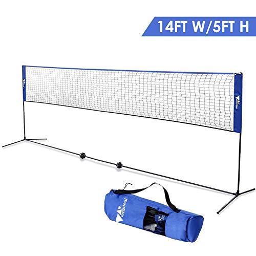 Badminton Net - Portable Net for Kids Volleyball, Tennis, Pickleball