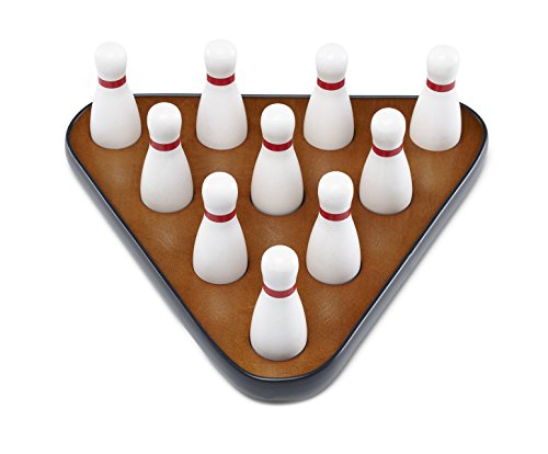 Pinsetter with Bowling Pins