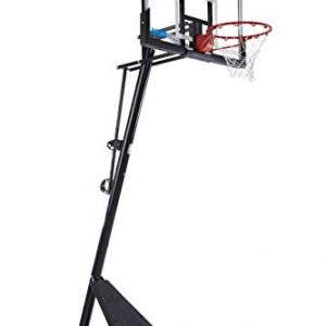 "Spalding Exclusive 50"" Acrylic NCAA Portable Basketball System"