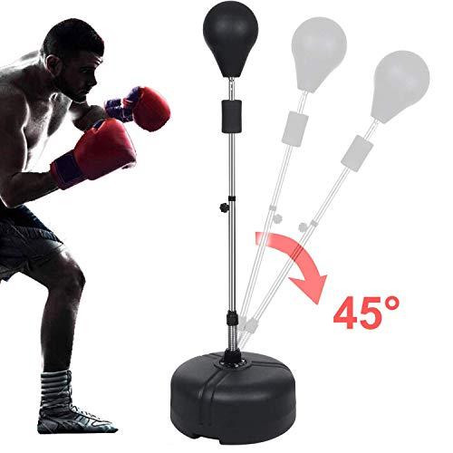 Freestanding Boxing Punching Bag Reflex Speed