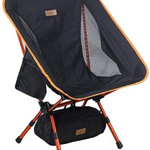 Portable Camping Chair Adjustable Height