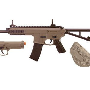 U.S. Marines Kit Airsoft Rifle and Pistol Battle Kit