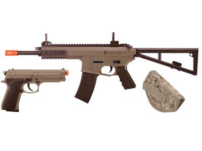 U.S. Marines Kit Airsoft Rifle and Pistol Battle Kit