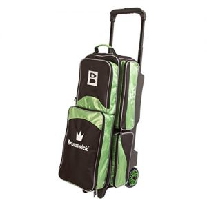 Brunswick Edge Triple Roller Bowling Bag- Many Colors Available